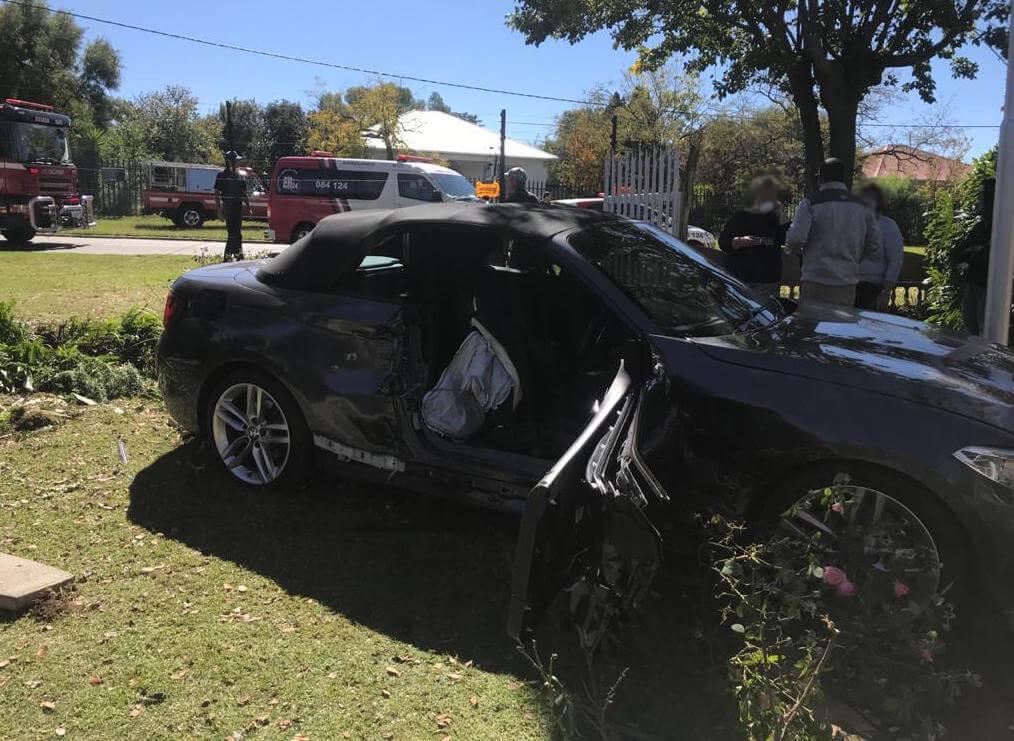 NORTHMEAD-Light motor vehicle collision leaves two injured