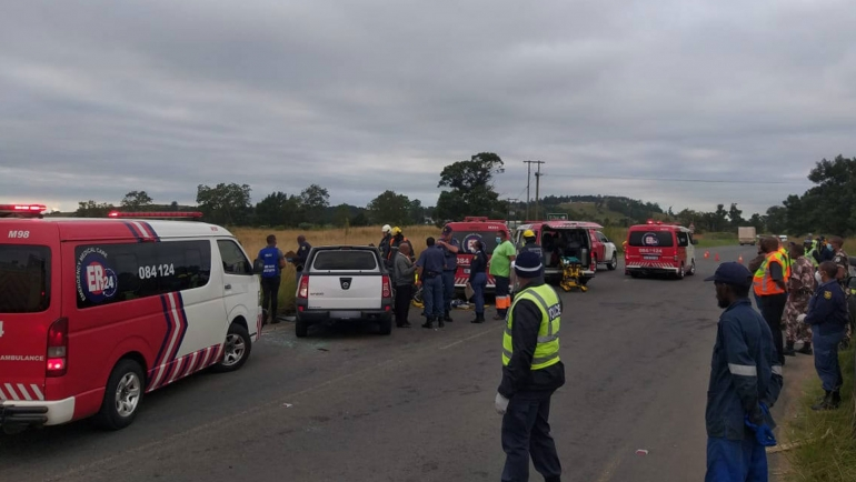 CATO RIDGE-Head on collision leave one dead three injured