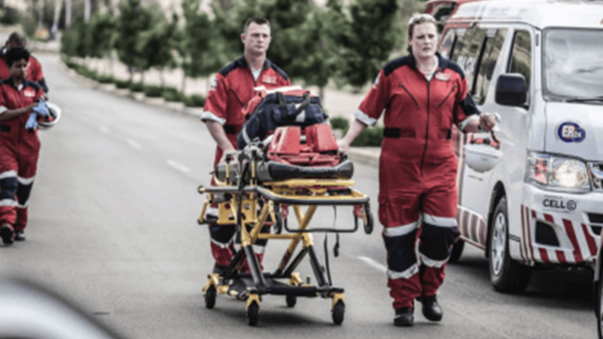 CENTURION - Young man seriously injured in fall from wall